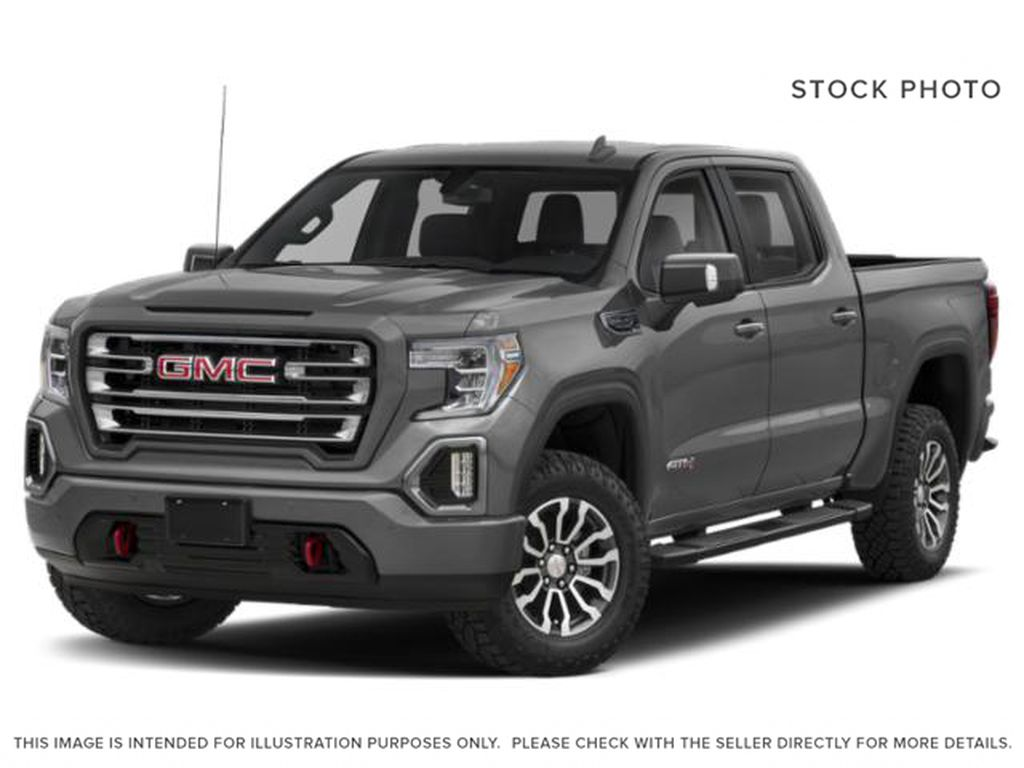 Gray[Satin Steel Metallic] 2021 GMC Sierra 1500 AT4