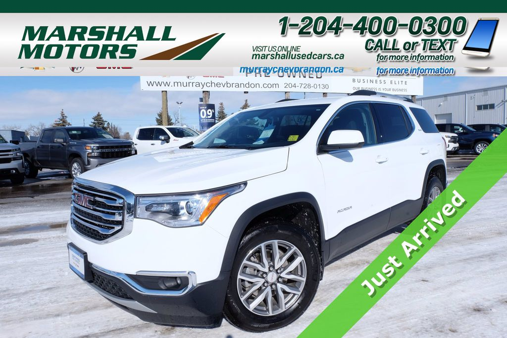White[Summit White] 2018 GMC Acadia