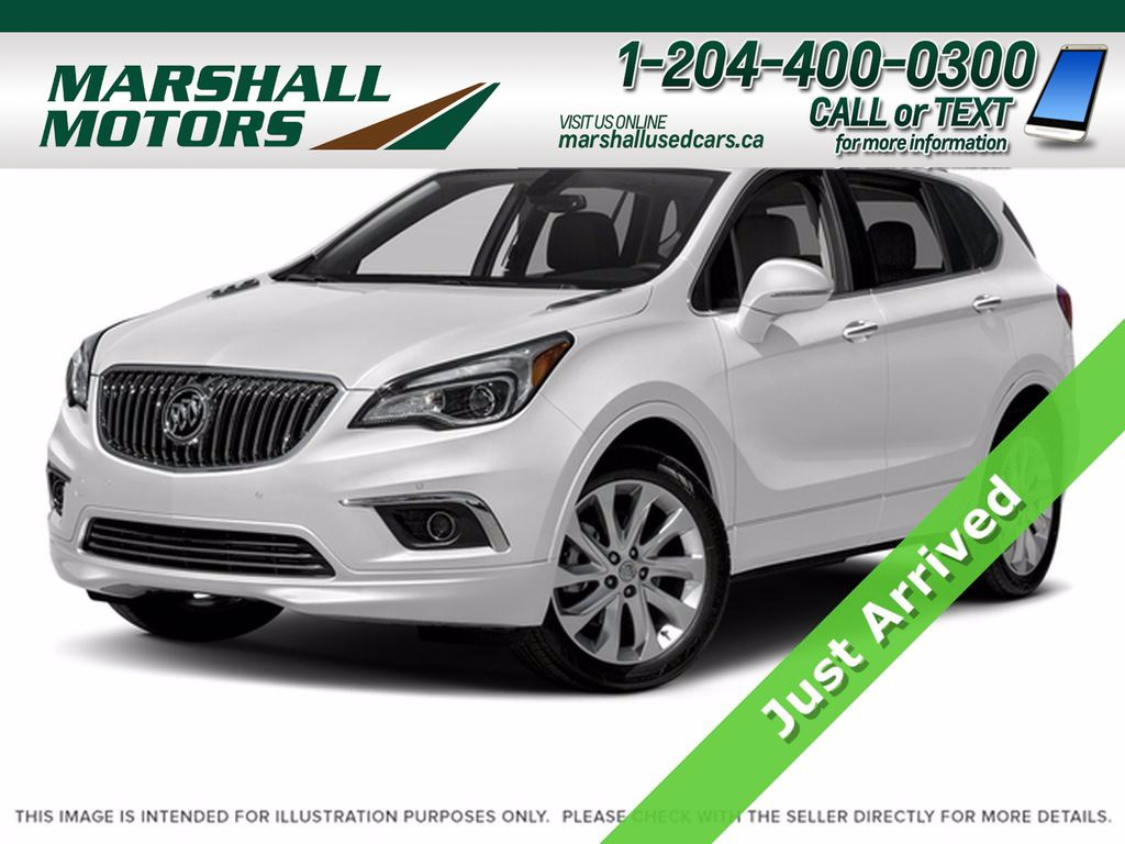 White[Summit White] 2017 Buick Envision