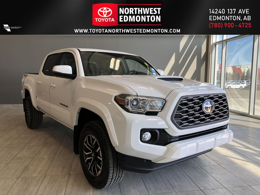 Wind Chill Pearl 2021 Toyota Tacoma 4WD Double Cab TRD Sport Premium (Manual Short Box)