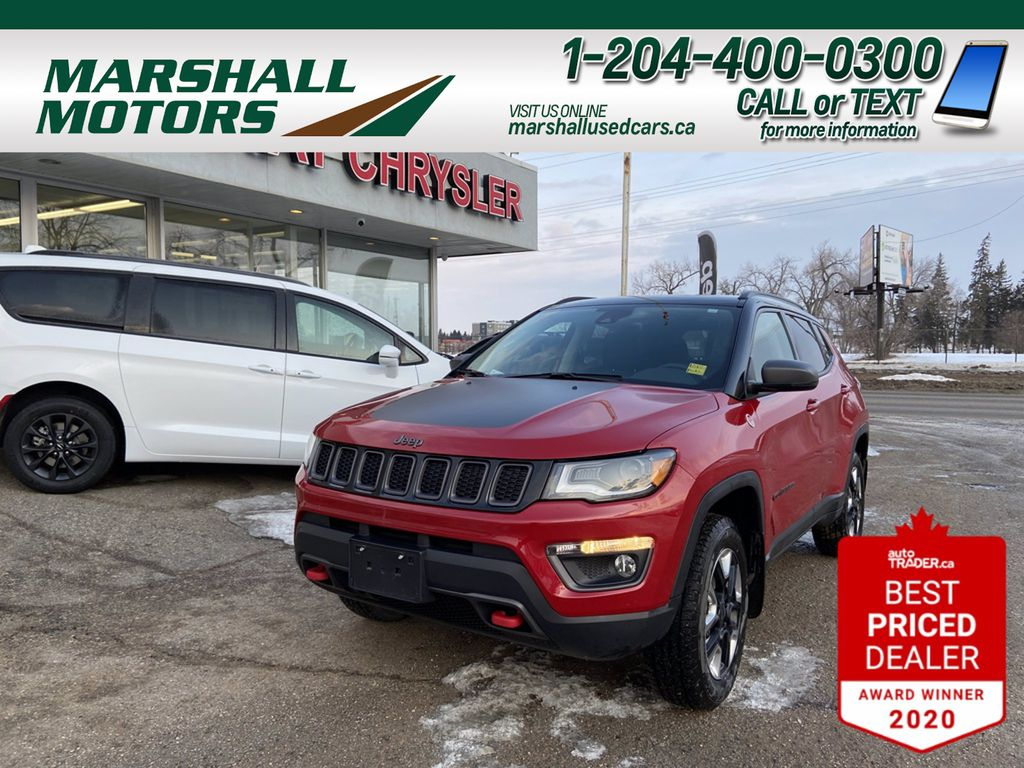 Red[Redline Pearl] 2018 Jeep Compass