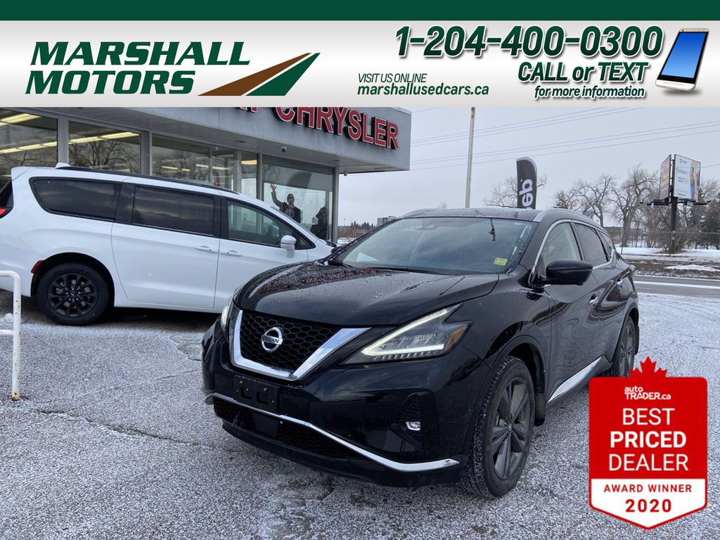 Black[Magnetic Black Metallic] 2019 Nissan Murano
