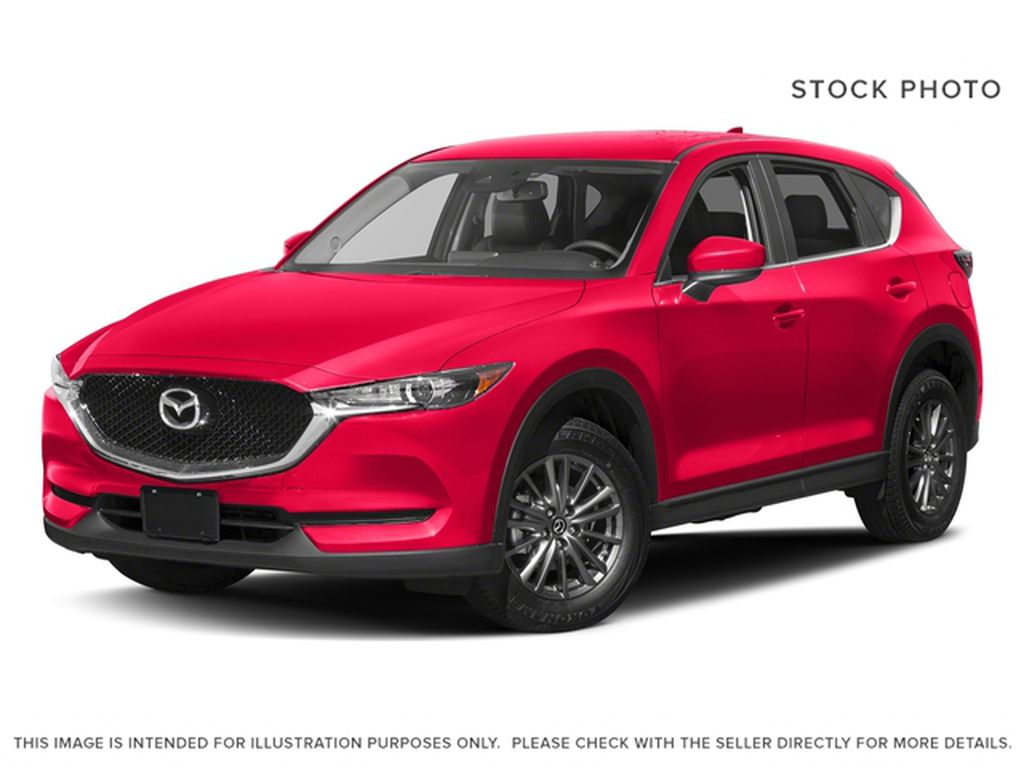 Red[Soul Red Crystal Metallic] 2017 Mazda CX-5 GS AWD