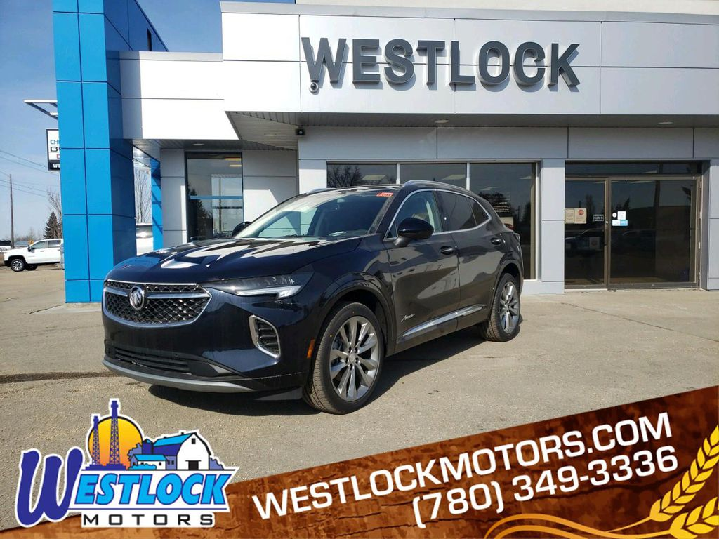 Blue 2021 Buick Envision