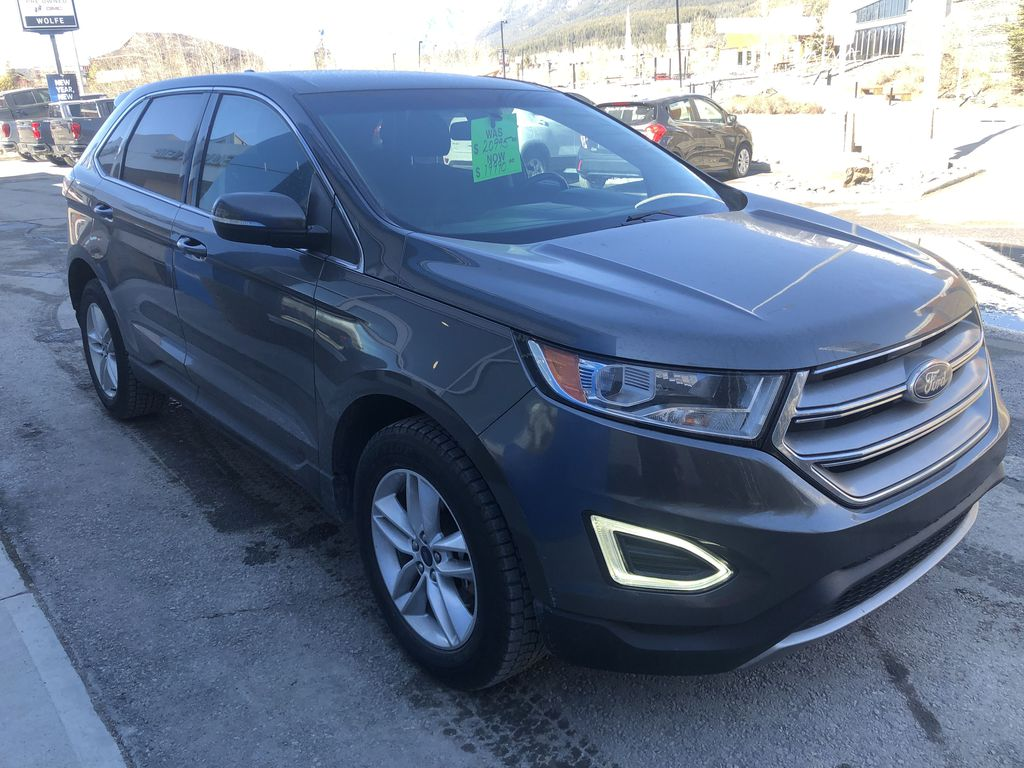 Gray[Magnetic Metallic] 2015 Ford Edge SEL
