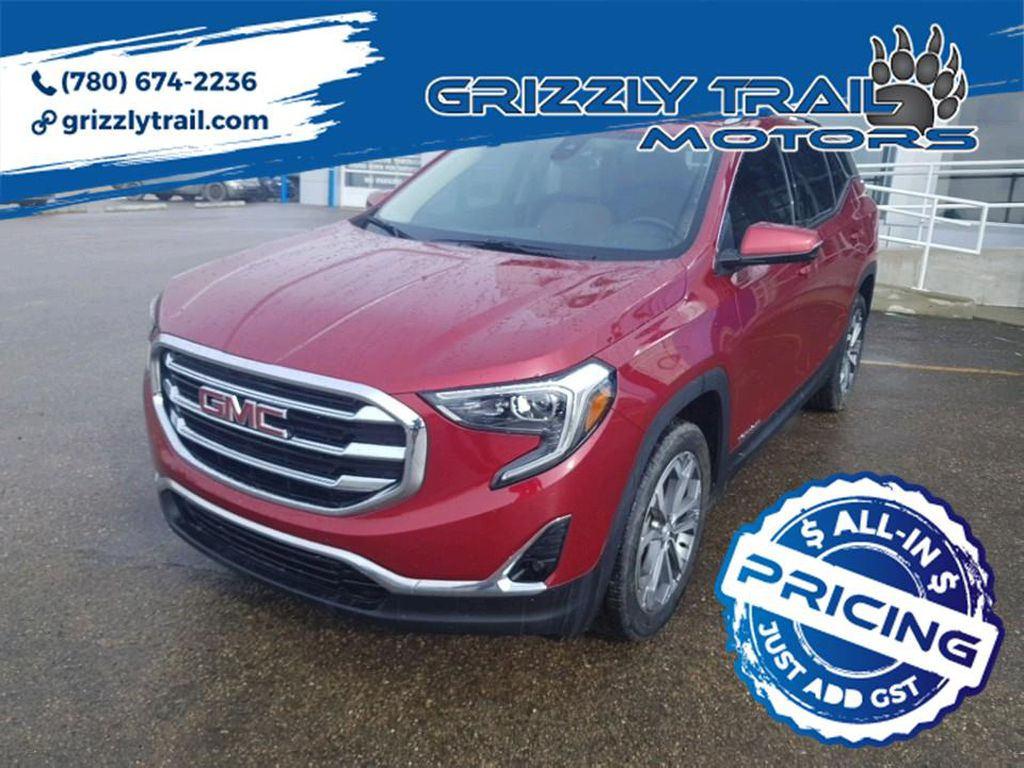 Red 2018 GMC Terrain