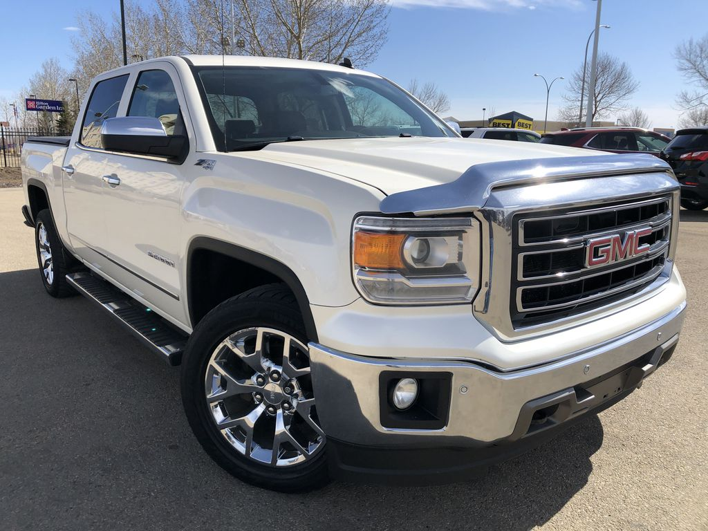 White[White Diamond Tricoat] 2014 GMC Sierra 1500