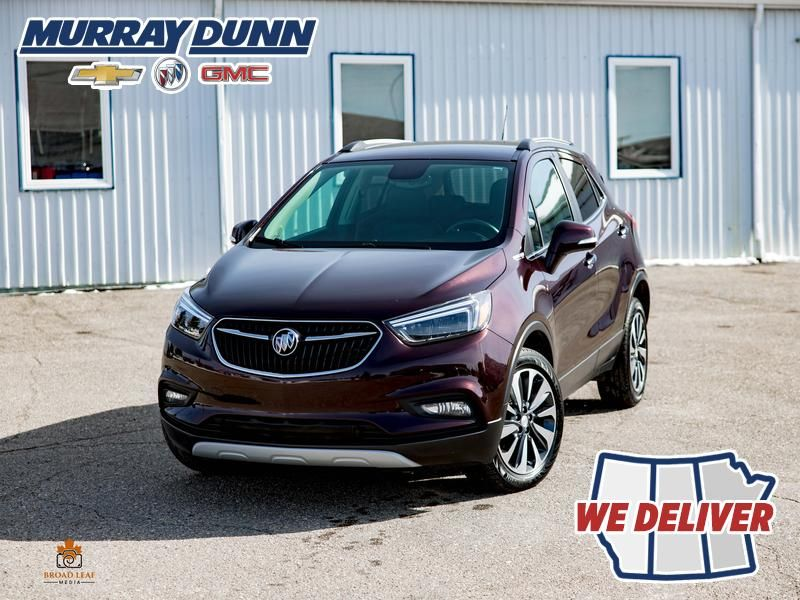 Black Cherry Metallic 2018 Buick Encore