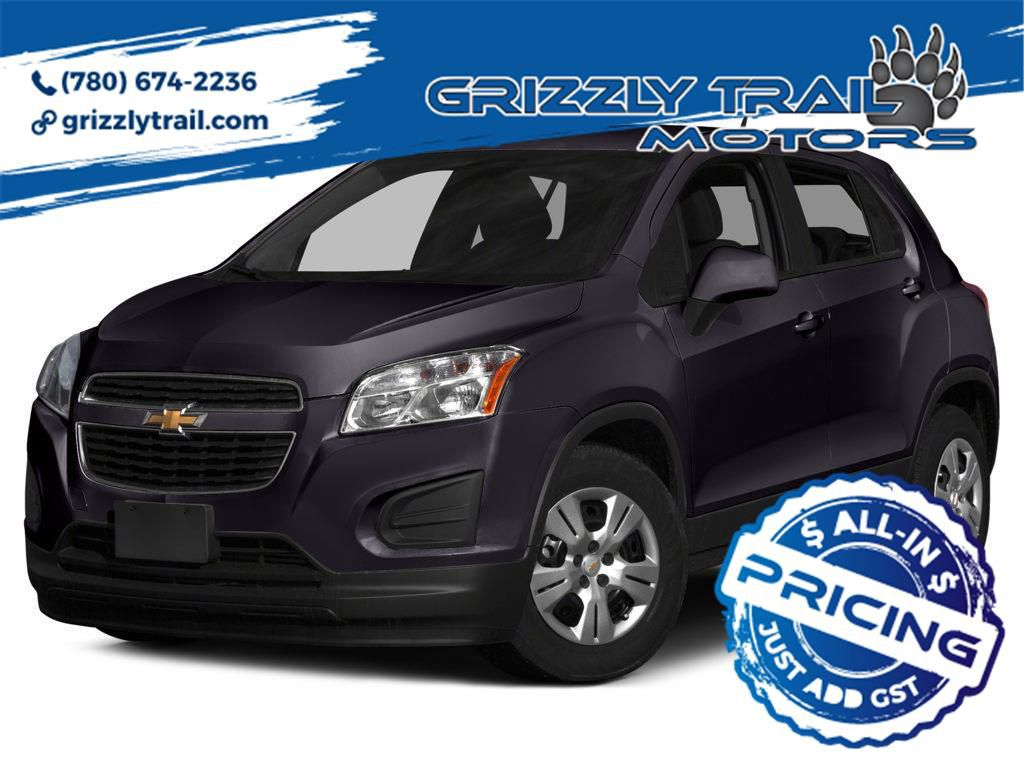 Purple 2015 Chevrolet Trax