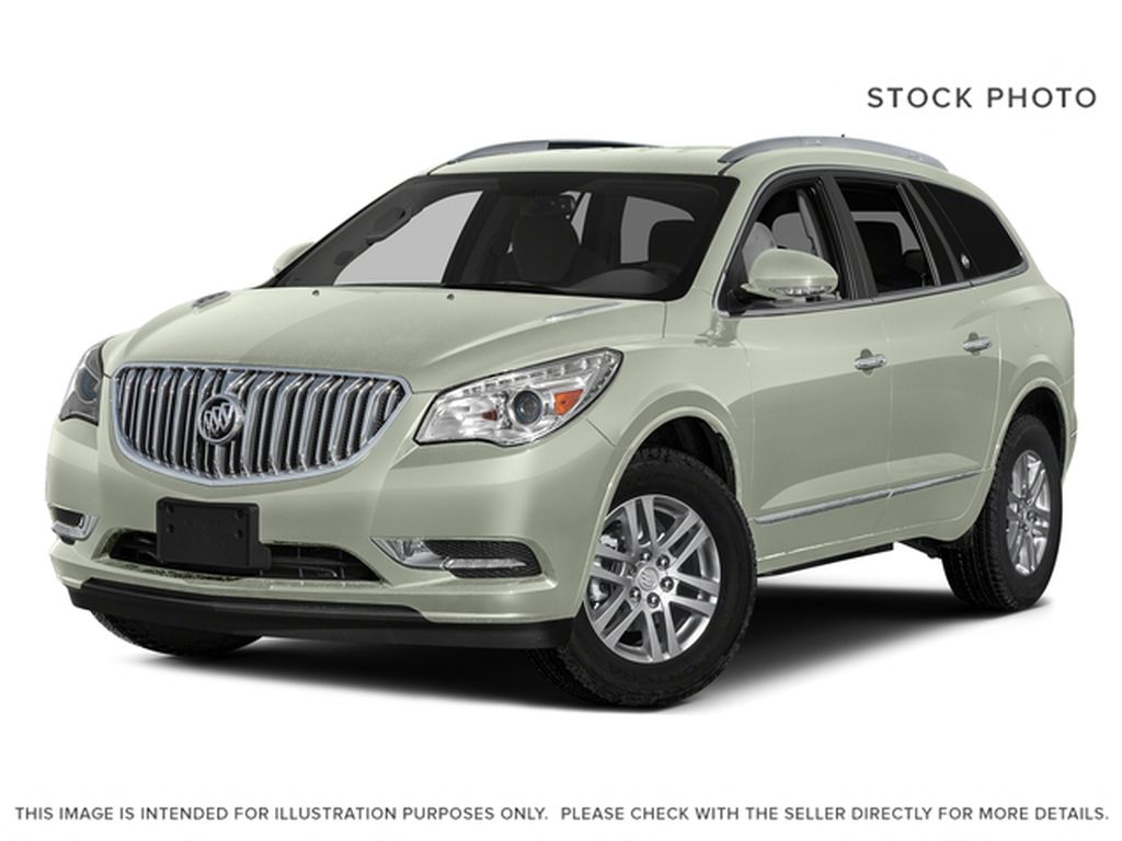 White[White Frost Tricoat] 2017 Buick Enclave