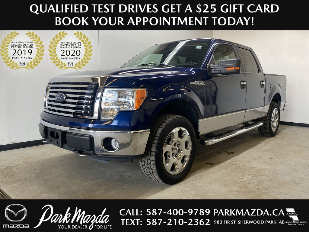BLUE 2010 Ford F-150 XLT - Backup Camera, Bluetooth, Air Conditioning