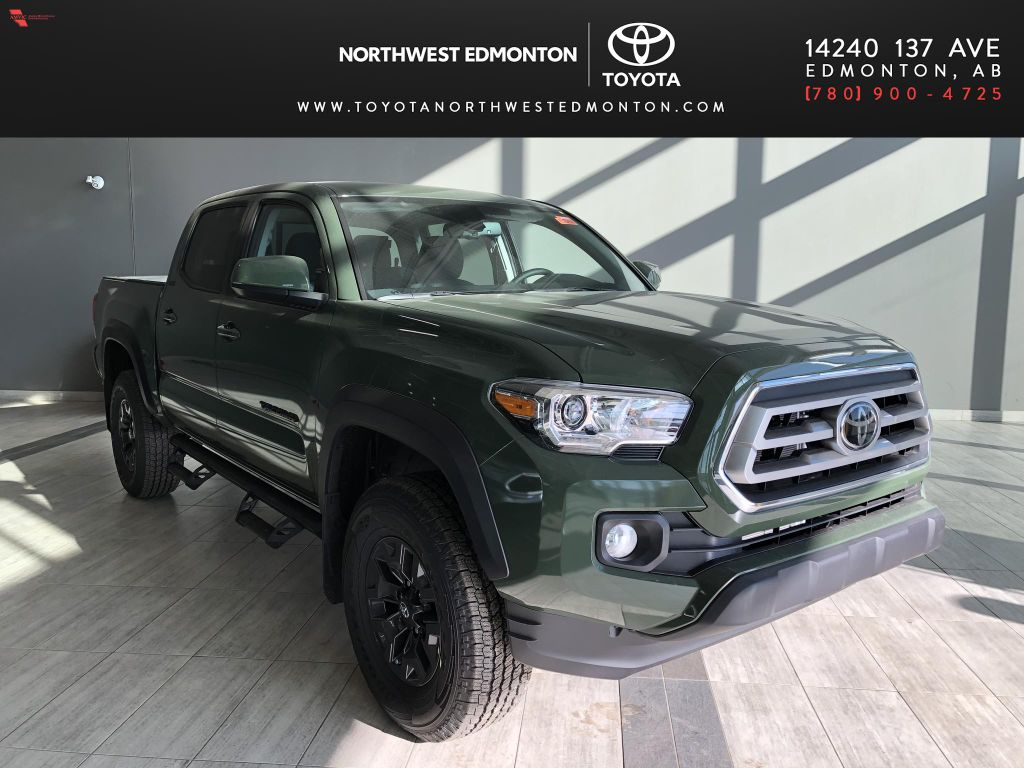 Army Green 2021 Toyota Tacoma 4WD Double Cab Trail (Short Box)