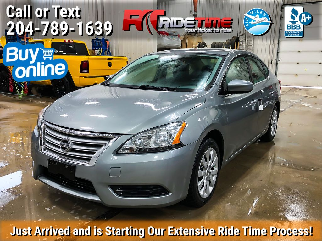Silver[Brilliant Silver Metallic] 2014 Nissan Sentra S - Automatic, SUPER LOW KMs, CLEAN CarFax
