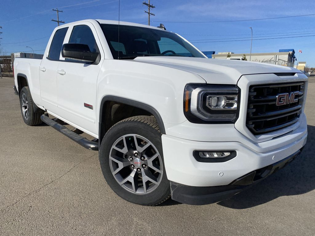 White[Summit White] 2017 GMC Sierra 1500