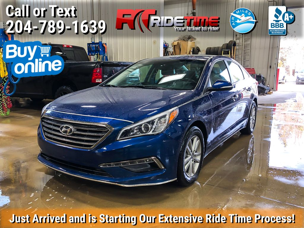 Blue[Coast Blue Pearl] 2017 Hyundai Sonata GLS - Sunroof, Heated Front / Rear Seats