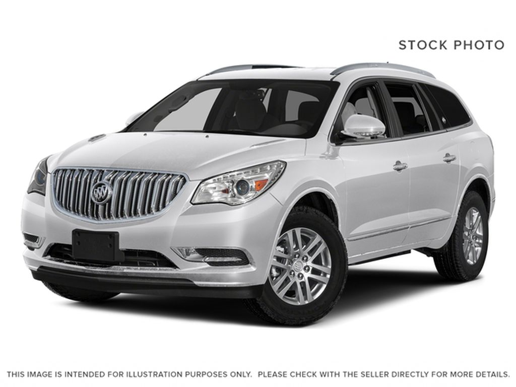 White[Summit White] 2017 Buick Enclave