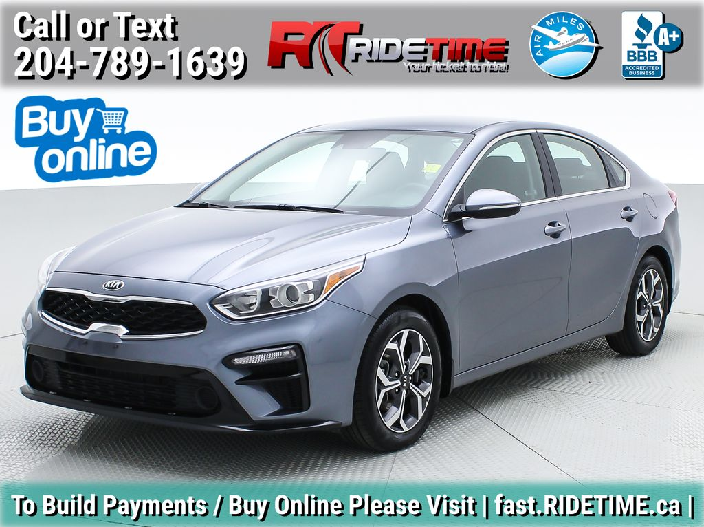 Gray[Urban Grey] 2020 Kia Forte EX - Apple CarPlay / Android Auto, Backup Cam