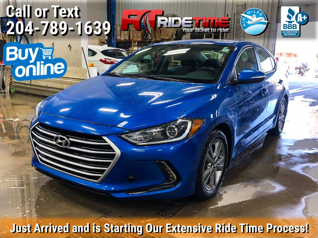 Blue[Marina Blue Metallic] 2017 Hyundai Elantra GL - Apple CarPlay / Android Auto, Bluetooth