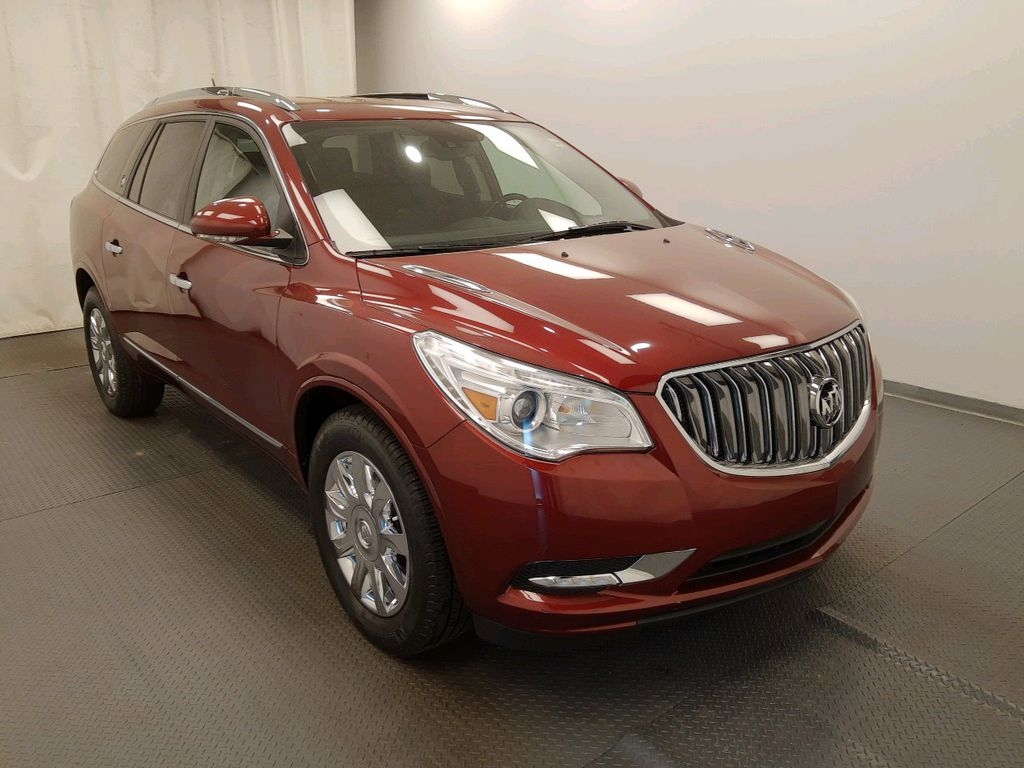 Red 2017 Buick Enclave