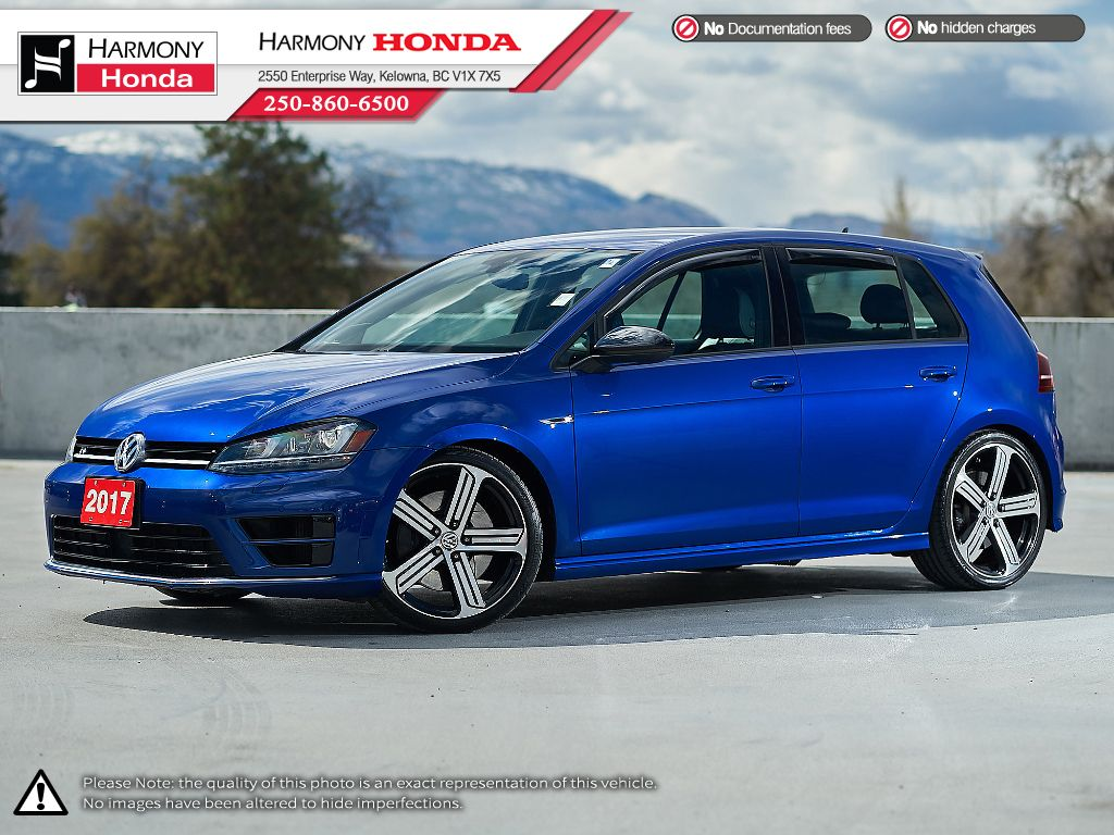 Blue - Lapiz Blue Metallic 2017 Volkswagen Golf R