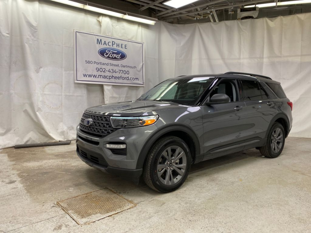 Gray[Carbonized Grey Metallic] 2021 Ford Explorer