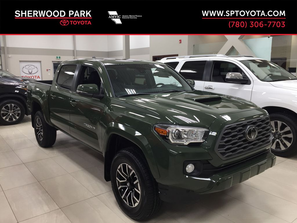 Green[Army Green] 2021 Toyota Tacoma TRD Sport