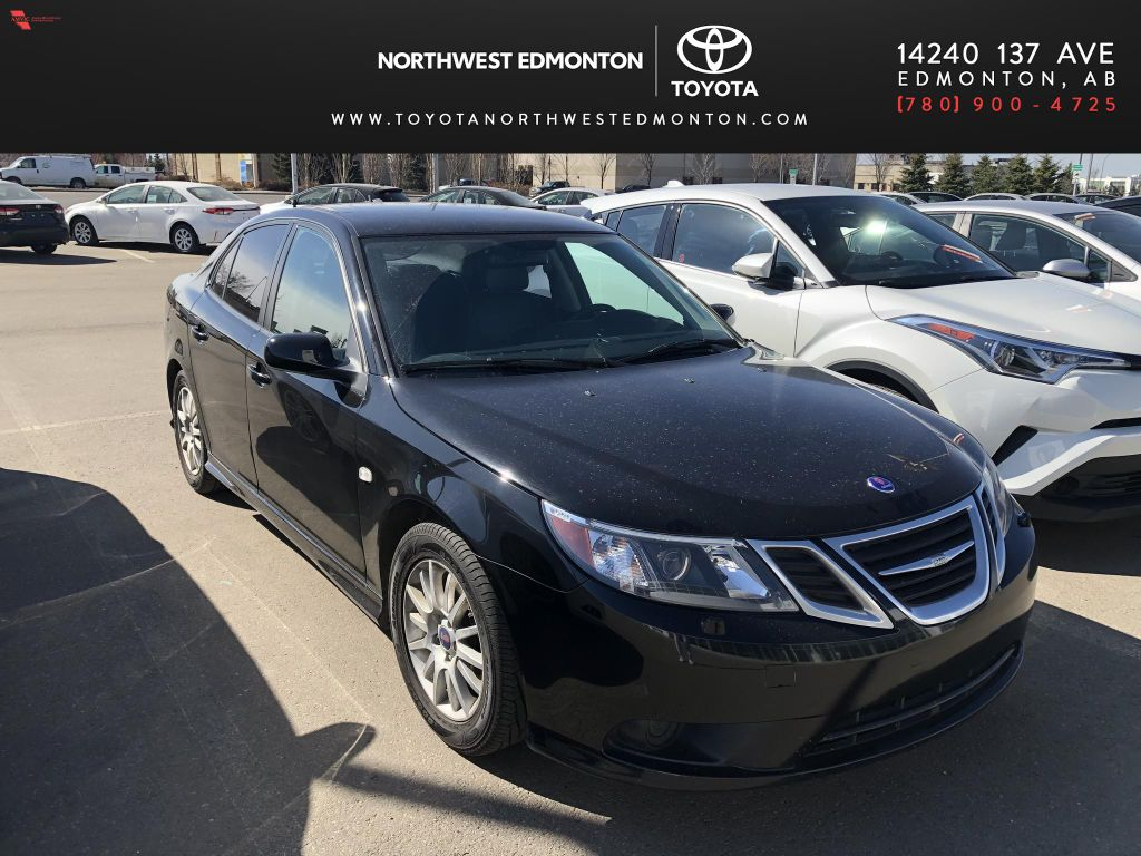 Black 2008 Saab 9-3 Manual