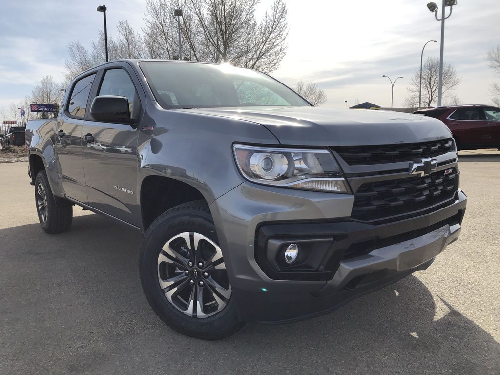 Gray[Satin Steel Metallic] 2021 Chevrolet Colorado