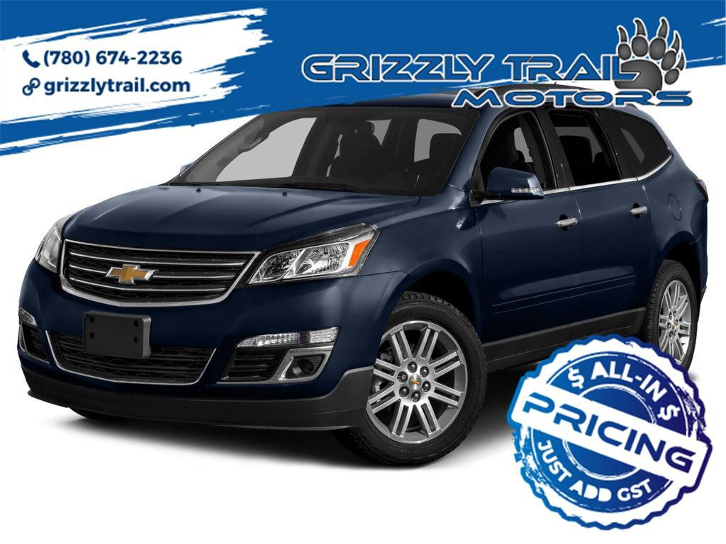 Blue 2015 Chevrolet Traverse