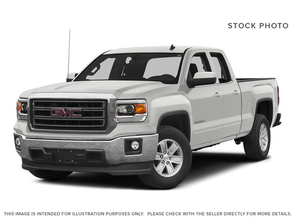 White[Summit White] 2015 GMC Sierra 1500