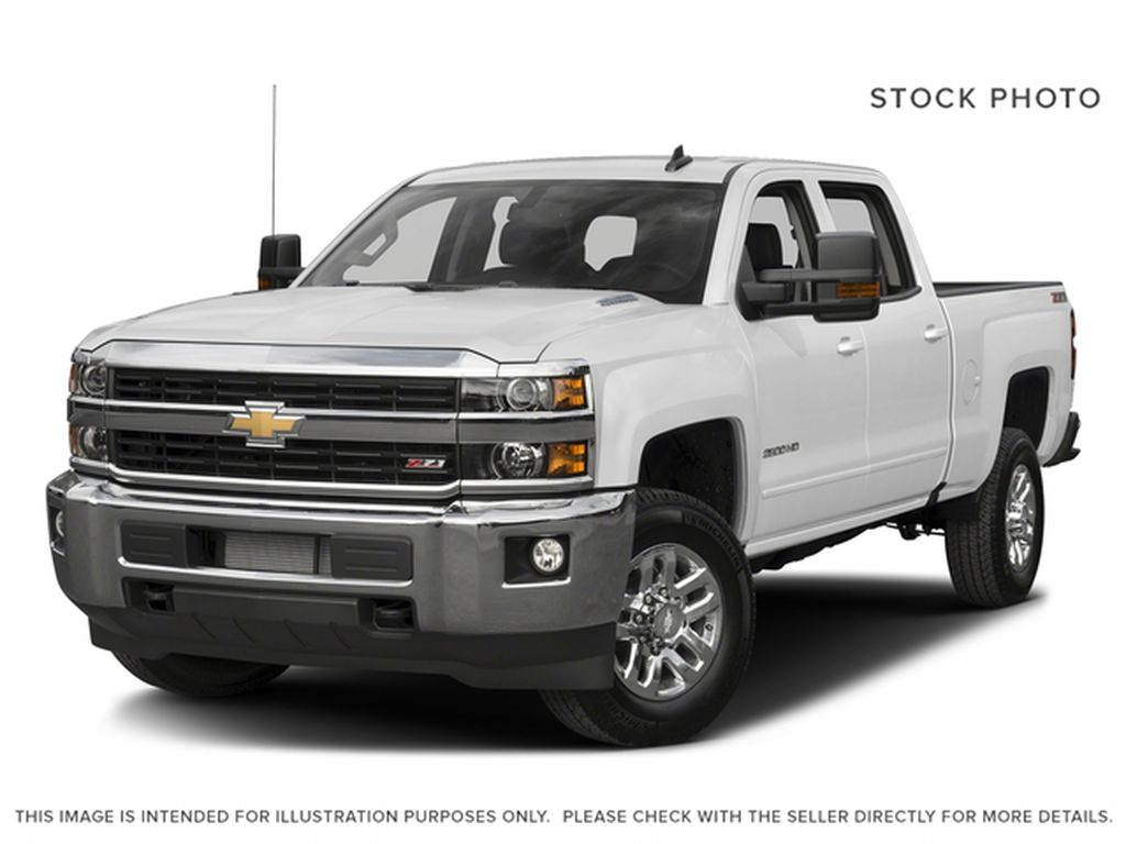 White[Summit White] 2017 Chevrolet Silverado 2500HD