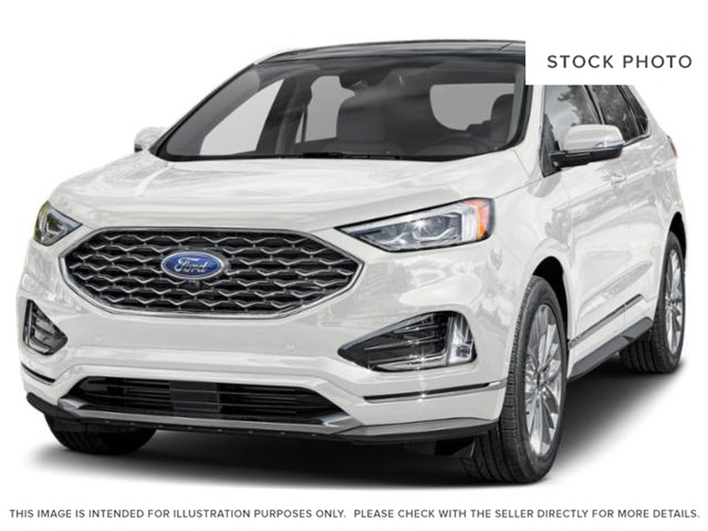 White[Star White Metallic Tri-Coat] 2021 Ford Edge