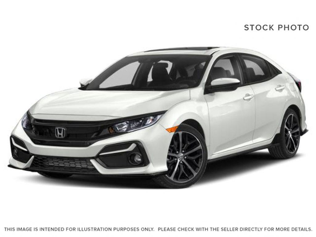 WHITE - NH-883P 2021 Honda Civic Hatchback