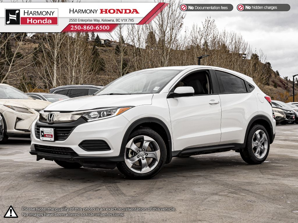WHITE - NH-883P 2021 Honda HR-V