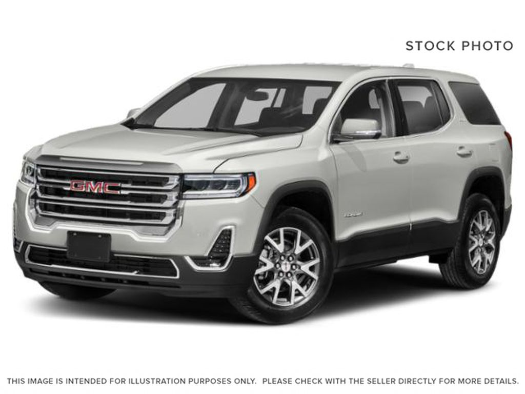 White Frost Tricoat 2021 GMC Acadia