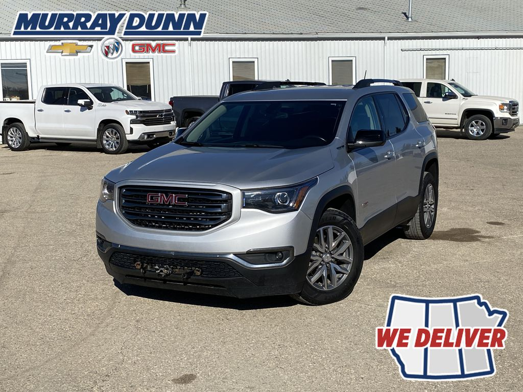 Silver[Quicksilver Metallic] 2017 GMC Acadia