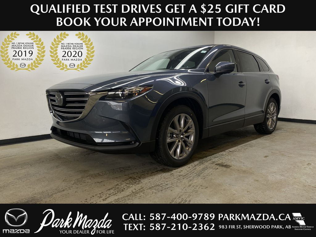 POLYMETAL GREY METALLIC(47C) 2021 Mazda CX-9 GS-L AWD