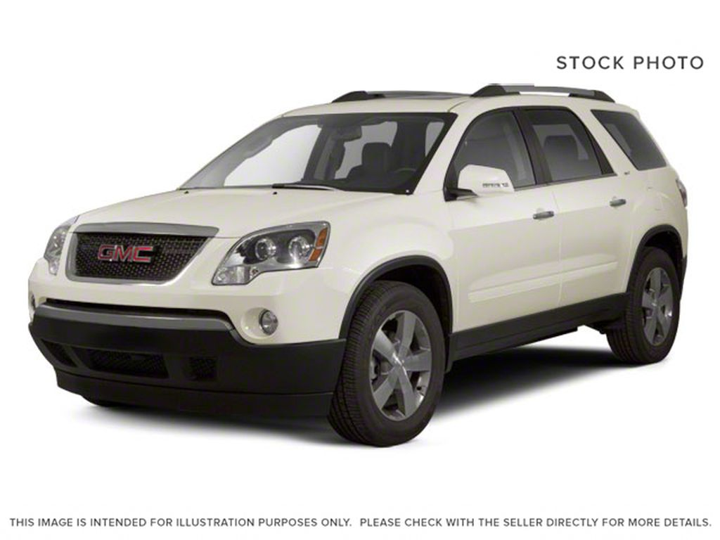 White[White Diamond Tricoat] 2012 GMC Acadia