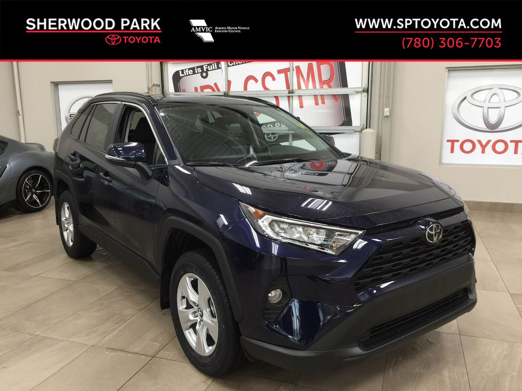 Blue[Blueprint] 2021 Toyota RAV4 XLE AWD