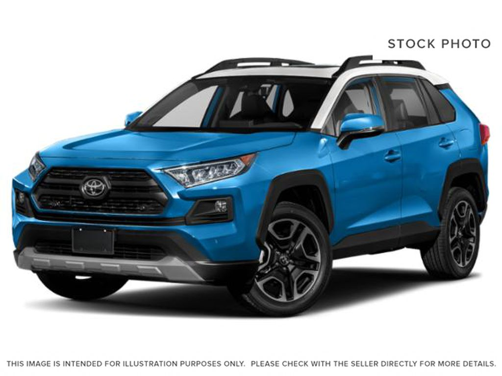 Blue[Blue Flame w/Ice Edge Roof] 2021 Toyota RAV4