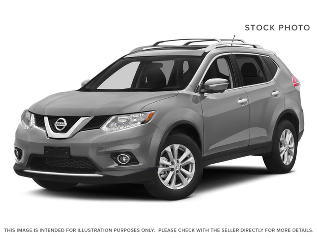 Silver[Brilliant Silver Metallic] 2015 Nissan Rogue S