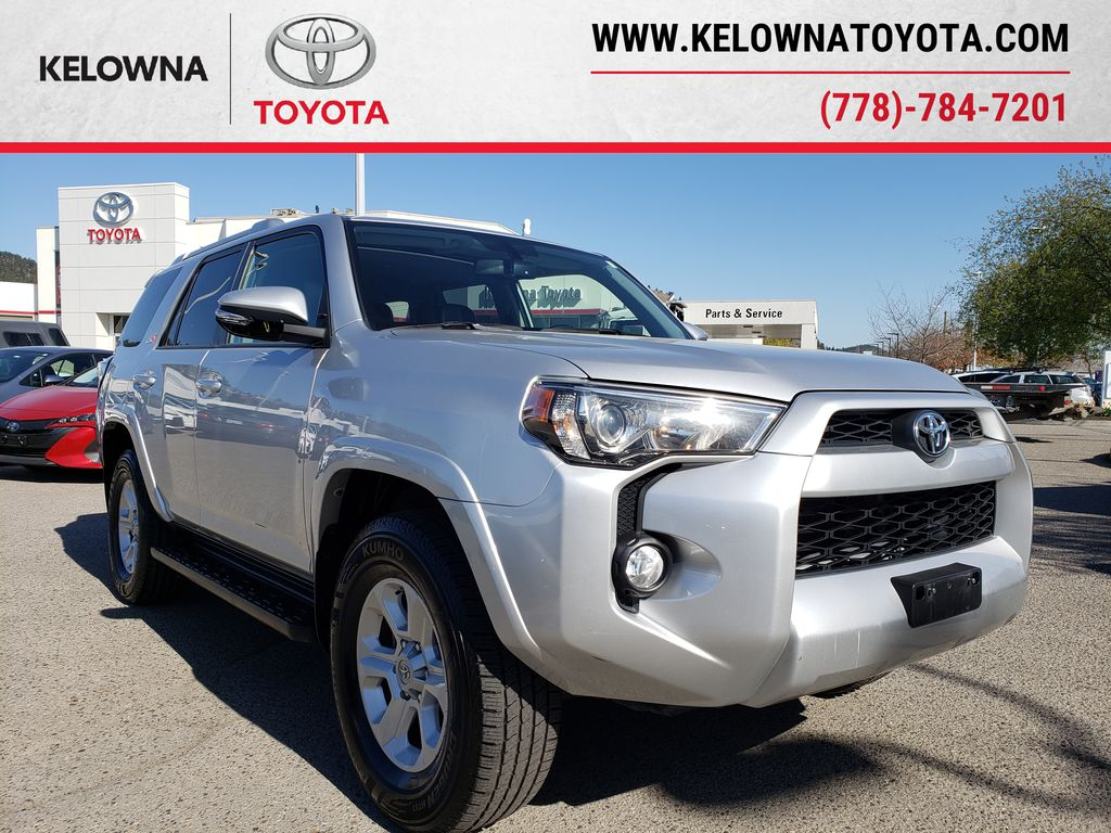 Silver[Classic Silver Metallic] 2016 Toyota 4Runner