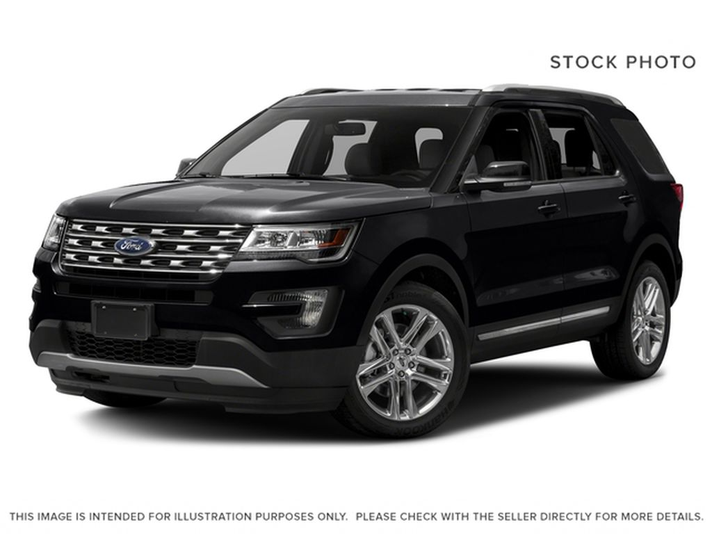 Black[Shadow Black] 2017 Ford Explorer