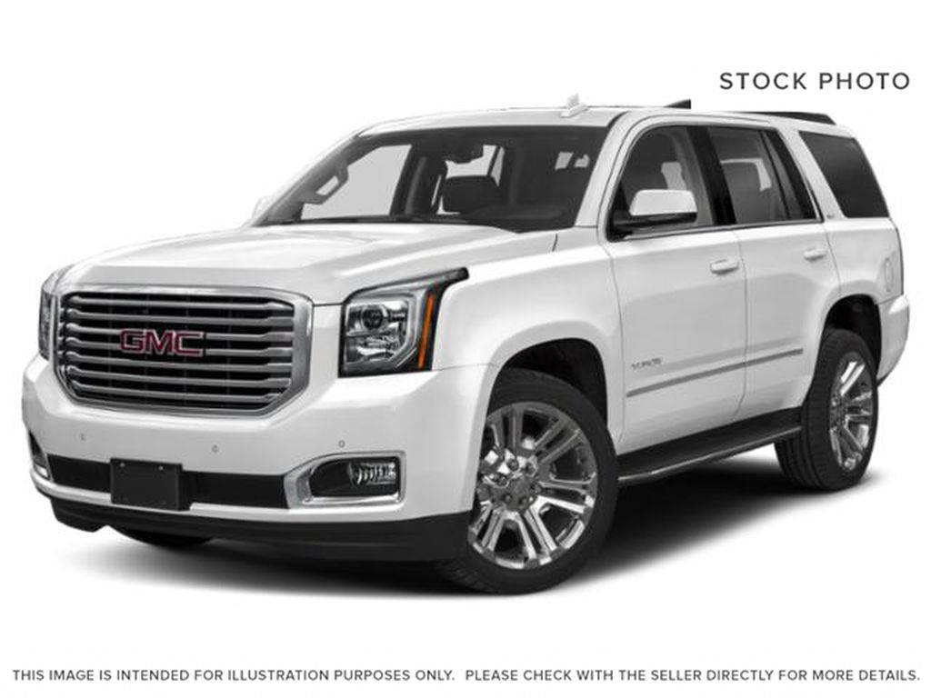 White[Summit White] 2019 GMC Yukon