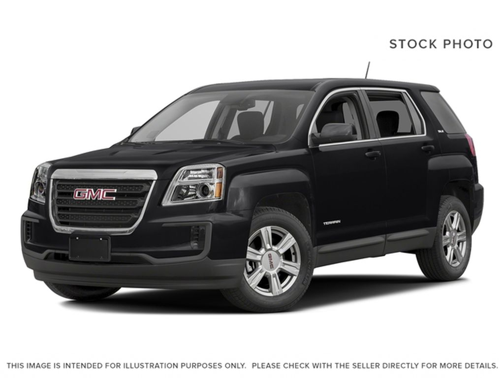 Black[Ebony Twilight Metallic] 2016 GMC Terrain