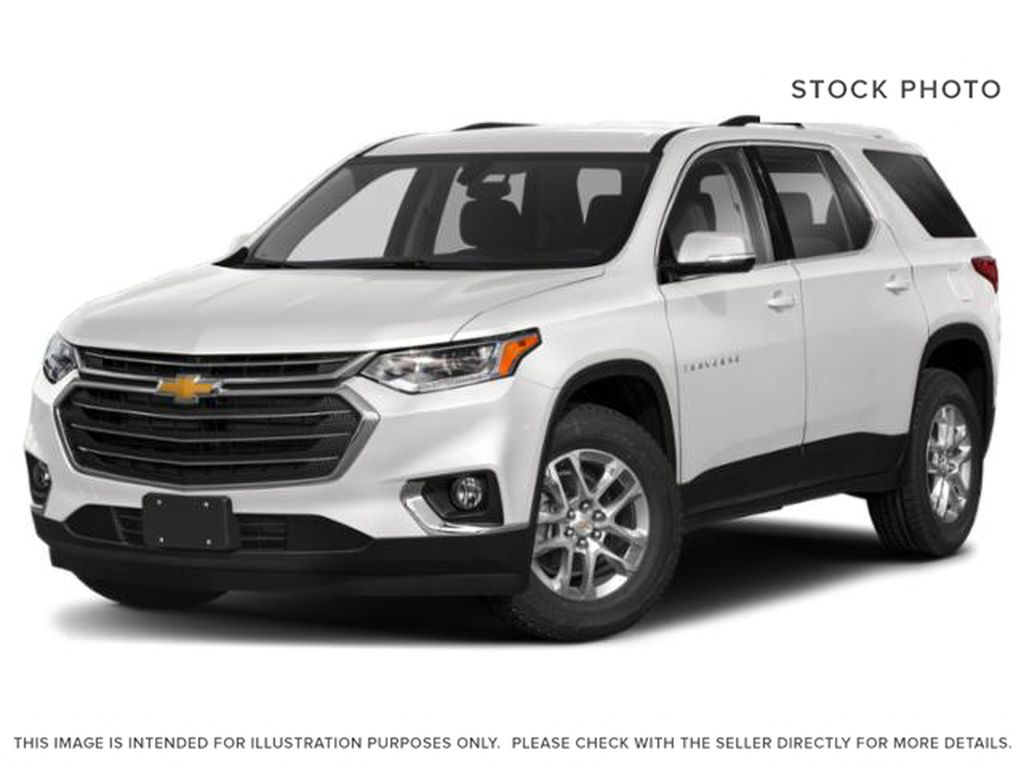 White[Summit White] 2021 Chevrolet Traverse