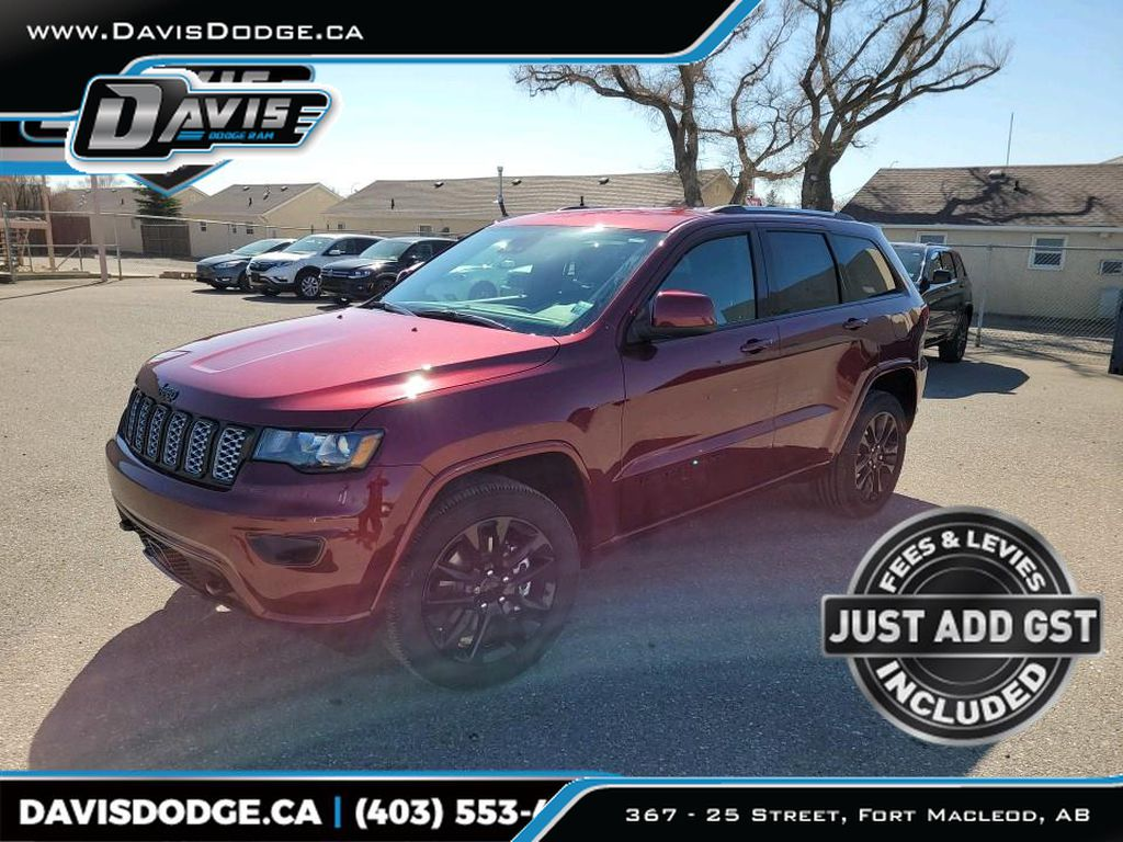 Red 2021 Jeep Grand Cherokee