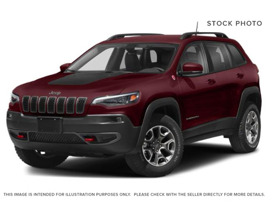 Red[Velvet Red Pearl] 2021 Jeep Cherokee