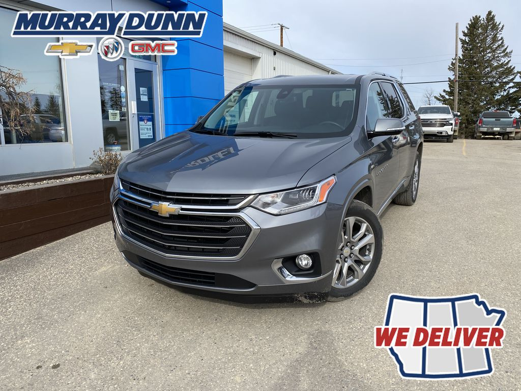 Gray[Satin Steel Metallic] 2018 Chevrolet Traverse