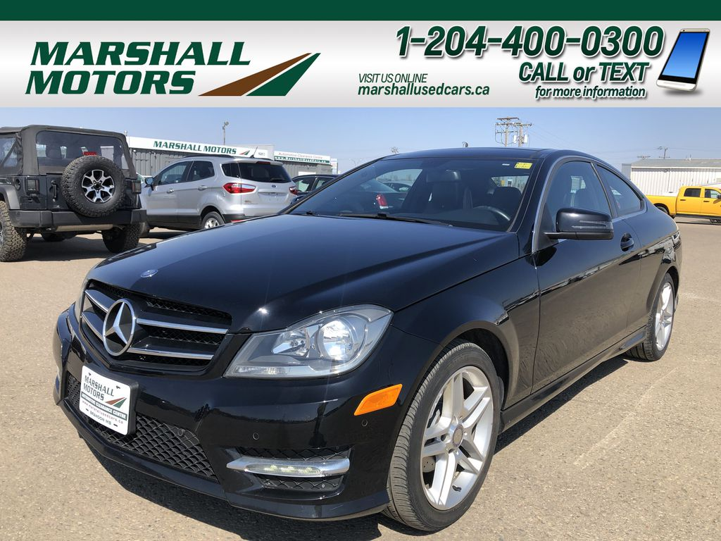 Black 2015 Mercedes-Benz C-Class Coupe *Heated Seats* *Sunroof*
